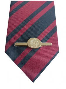 Royal Corps of Engineers Tie & Engraved Tie Clip Set e025